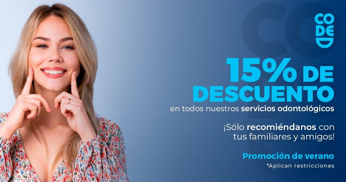 promoción 15% de descuento